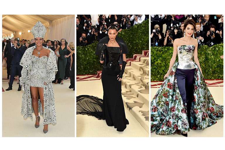 Met Gala 2018. The Red Carpet Fashion Gallery and Celebrity Dresses