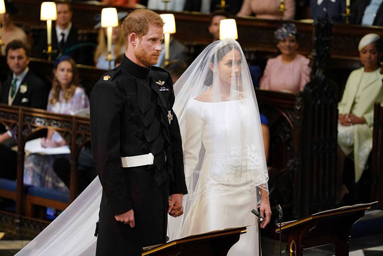 A Sneak Peak to the Royal Wedding- Prince Harry and Meghan Markle
