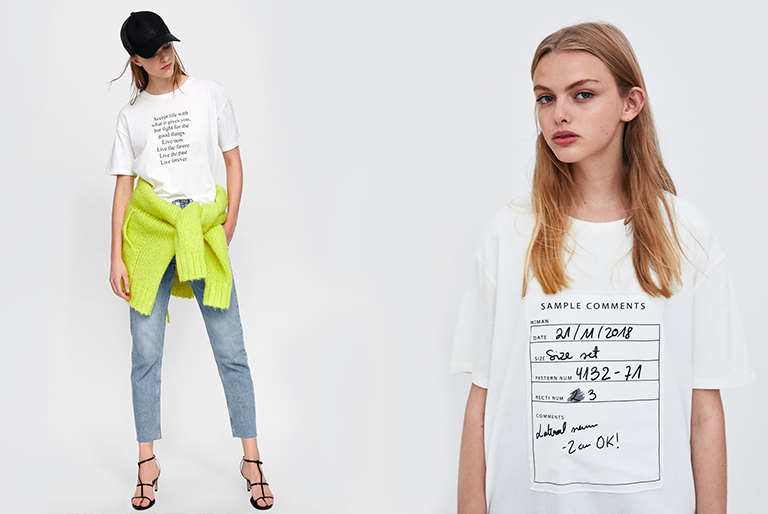 White T-Shirt or Tee And How To Style Them This Season – Zara//Mango//H&M
